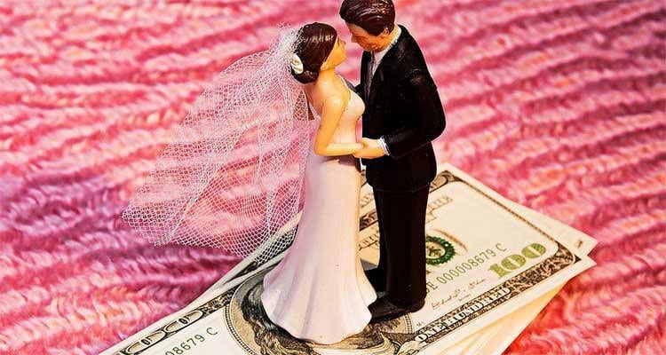 paying for the wedding