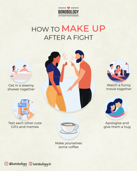 cute things to do for your boyfriend after a fight