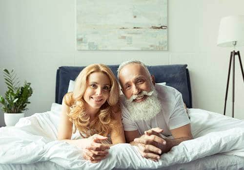 Older Man Younger Woman