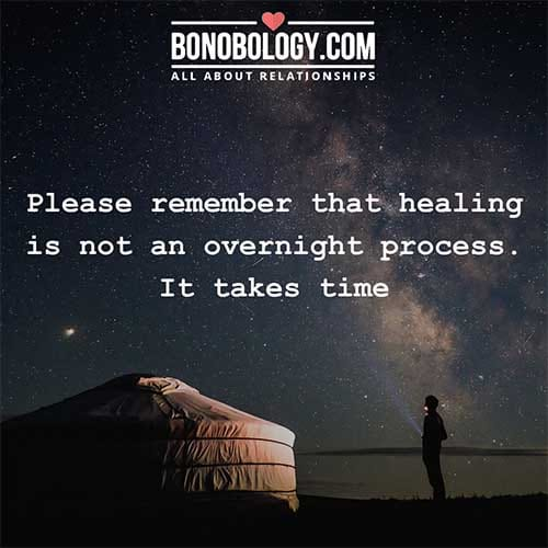 Takes time To Heal