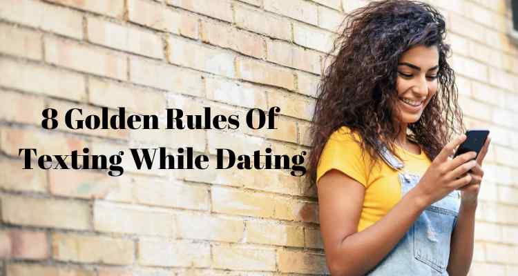 rules of texting while dating