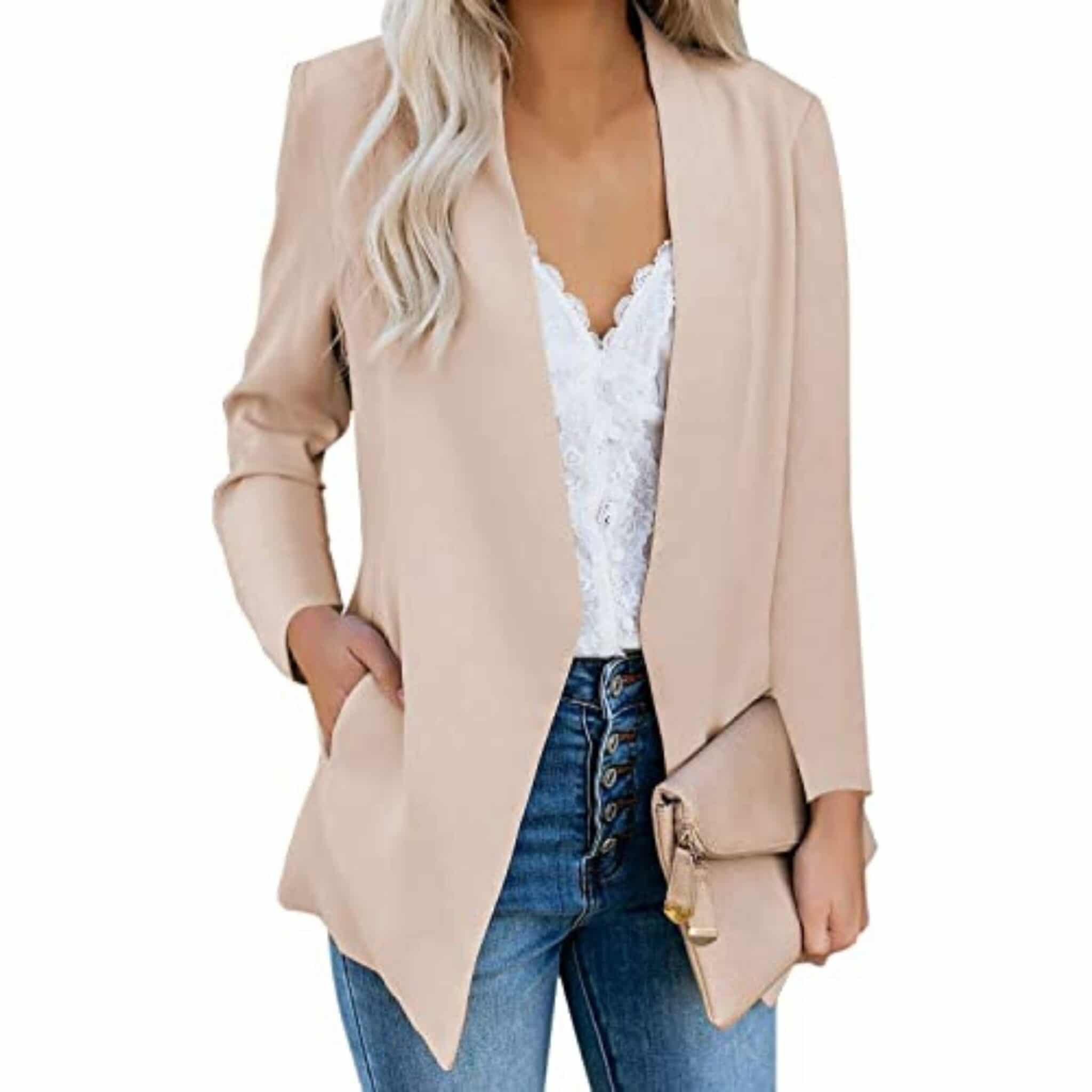 blazer and skinny jeans first date outfit