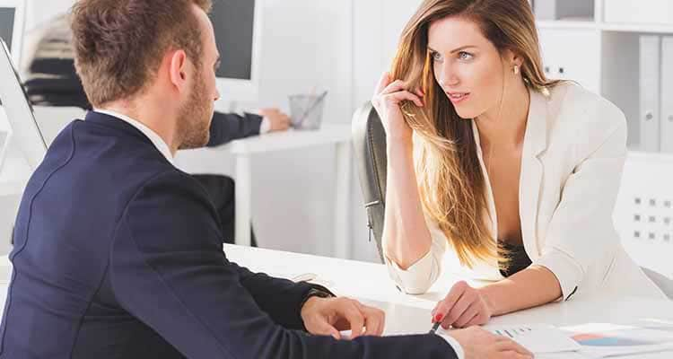 Extramarital affairs in the workplace are common