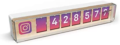 Smiirl Real Time Instagram Counter 7-digit