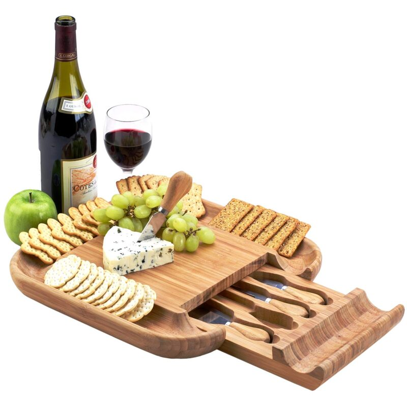 Cheese Board and wine
