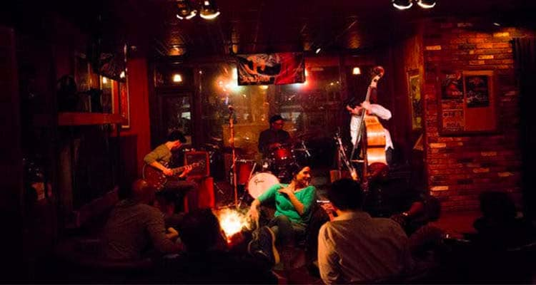 Check out a jazz club