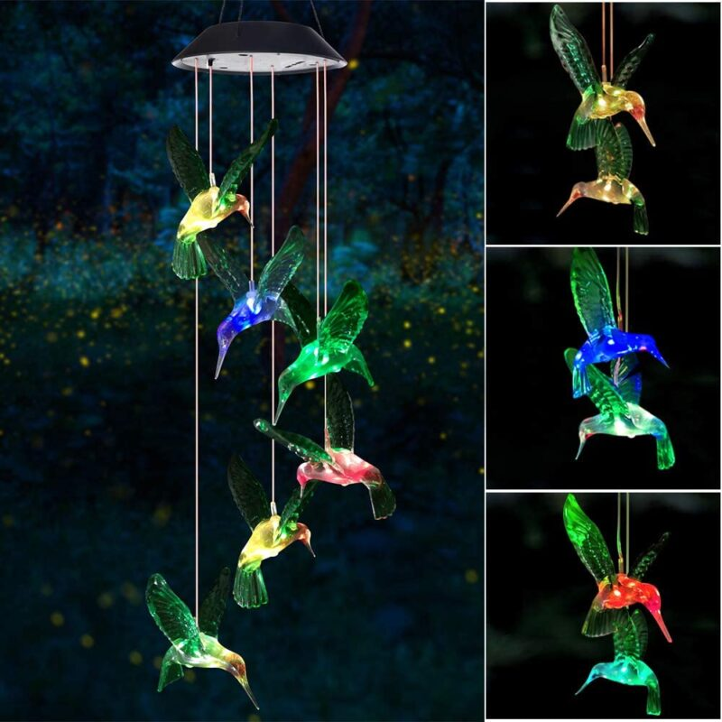 Six Foxes Wind Chime