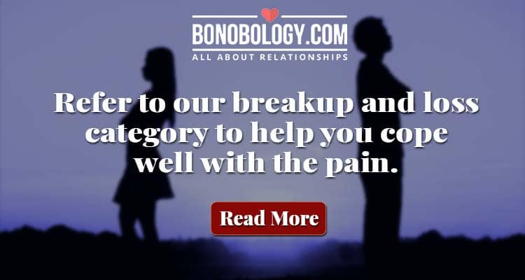 read about break up and loss