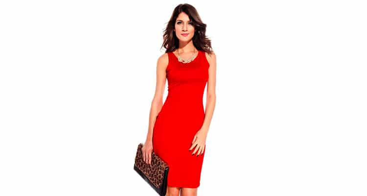 red dress for first date