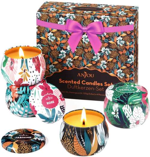 Anjou Store Scented Candles Gift Set