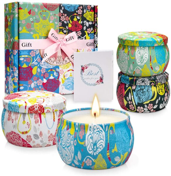 Aromatherapy Scented Candle Set