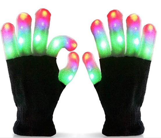 Colorful Lighting Gloves