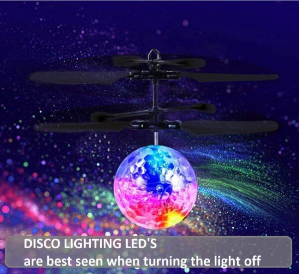 Helicopter-with-disco-ball