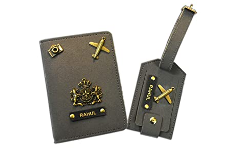 Passport holder and luggage tags