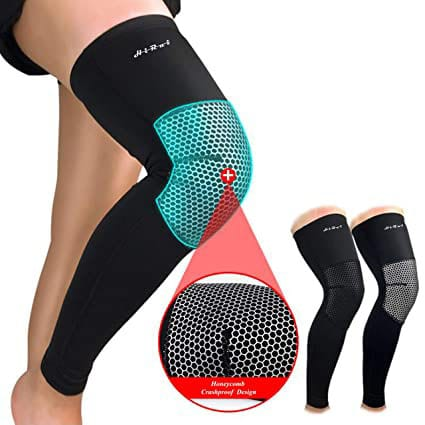 Knee Compression Pad and Leg Sleeve