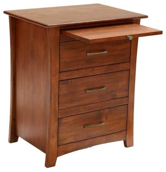 Nightstand with Pullout Shelf