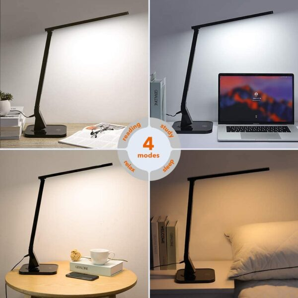 USB Enabled Led Desk Lamp