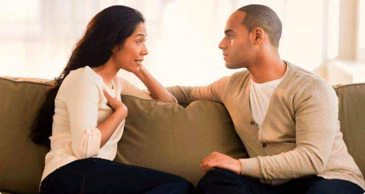 husband confides in another woman
