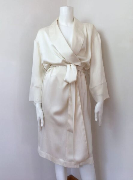 Le Sourceress Mulberry Silk Robe