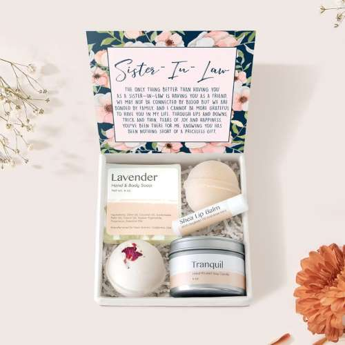 DearAvaGifts Sister-In-Law Gift Box