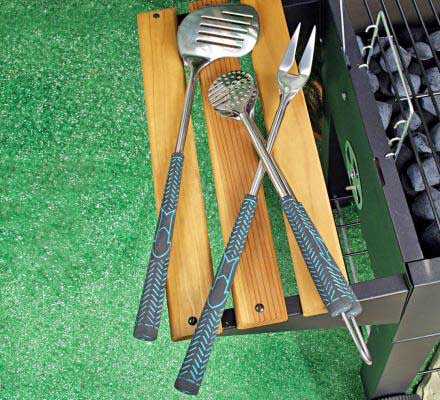 Golf Club Style Grill Accessories