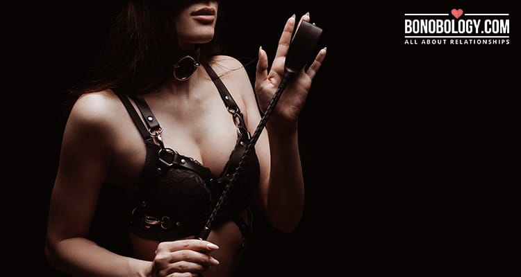 BDSM is not always about sex alone