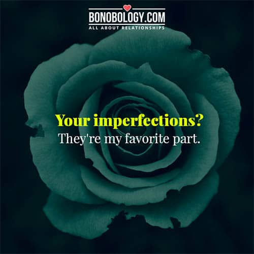 beauty lies in imperfection
