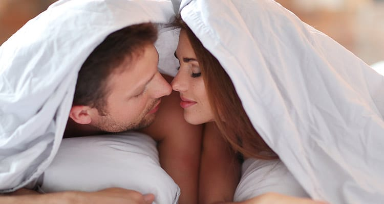 Get romantic and share a good sex life