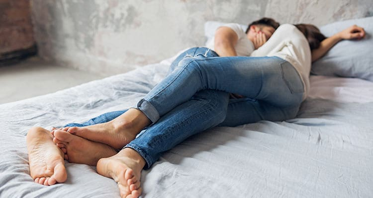 Oh, the joys of the marital bed