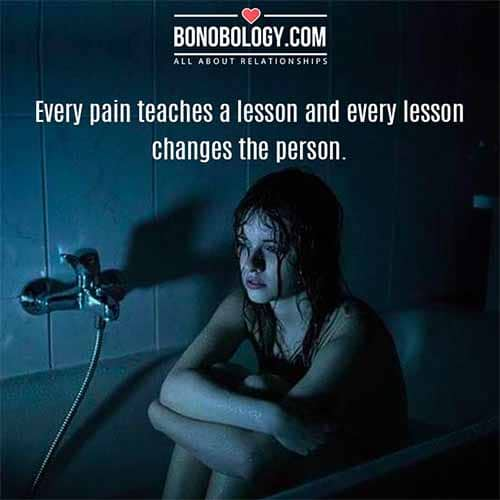 pain and lesson