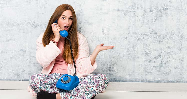 Landline ringing would have my heart racing