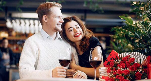 crush on friend- dinner date