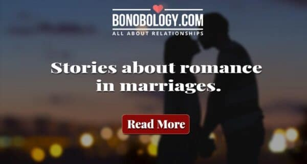 romance in marriages