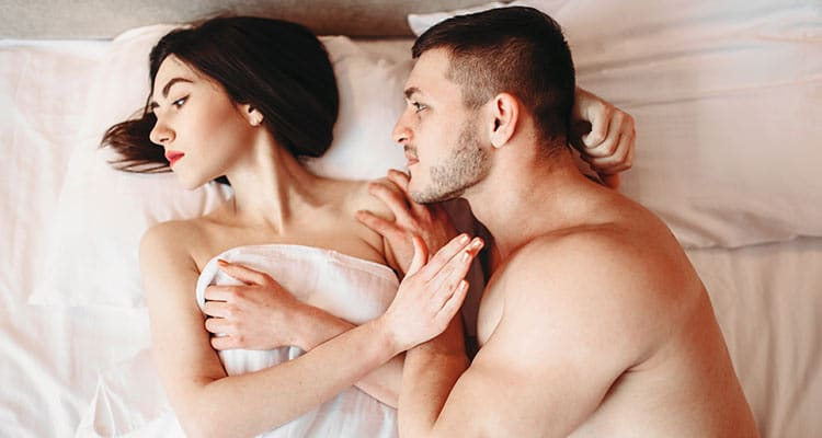 You are not okay with physical intimacy