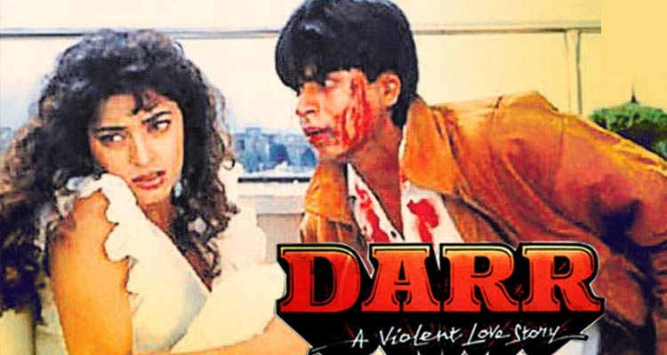Darr played with the idea of obsession overtaking love and made a villain the centre of a story
