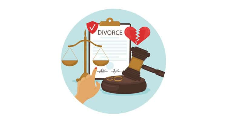 How to fie divorce without involving police