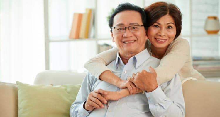 how often 50 year old married couples make love