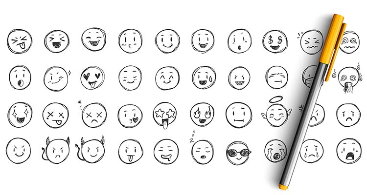 Emojis have come to be treated as more than just drawings; an emoji conveys emotions, feelings, with just one tap of your finger.