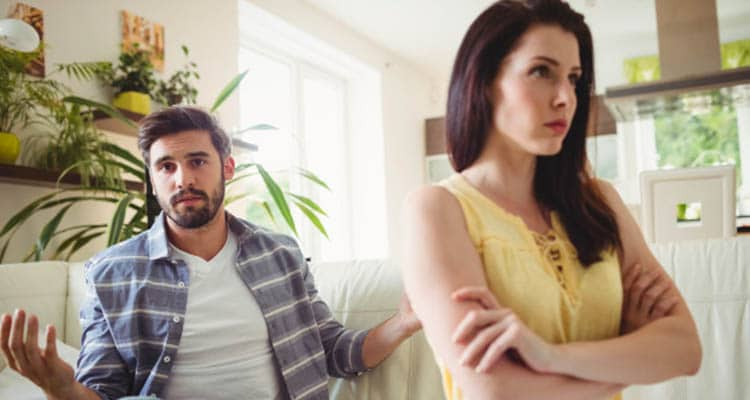 diffuse an argument with your spouse