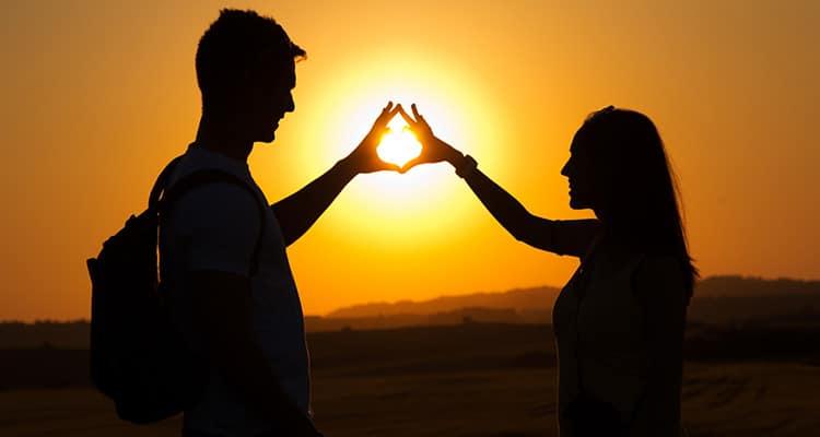 honest happy couple
