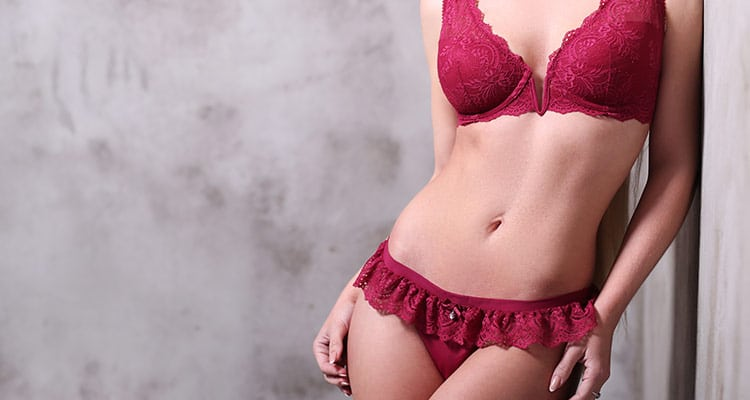 If lingerie matters so much, that's because the woman wants to look good to herself and feel good about herself.