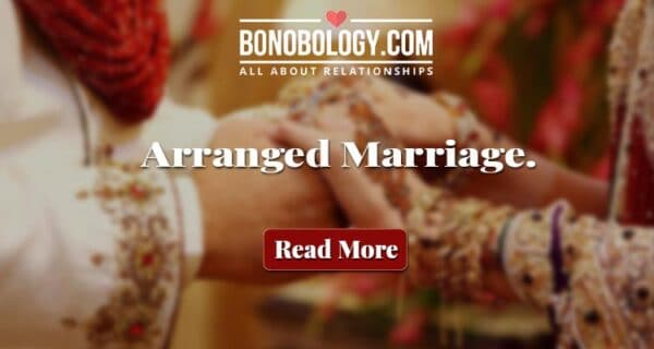 Romance in arranged marriage
