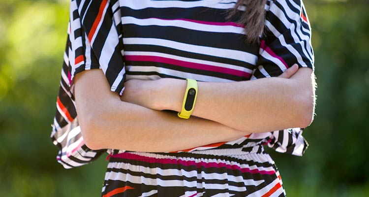 cool gifts for women - fitness band
