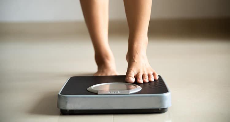 losing a few pounds would take the pressure off of my legs.