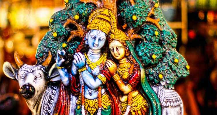 Radha was witness to and part of many of Krishna's Vrindavan adventures.