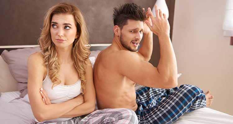 Wife angry with husband