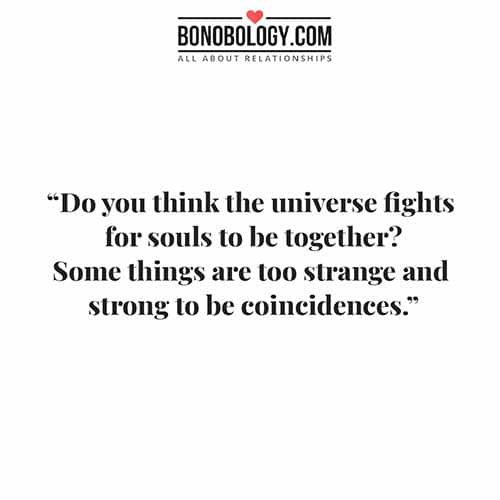 coincidence quote