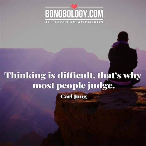 why people judge