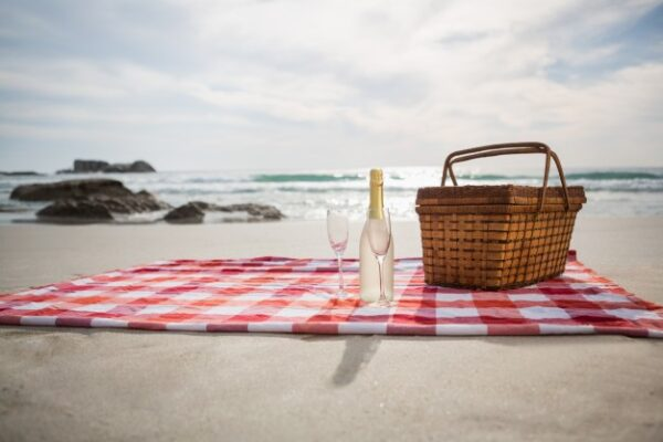 On a picnic is always a nice cute way of asking a girl to be your girlfriend