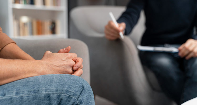 seeking therapy after affair